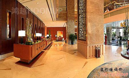 上海浦东香格里拉酒店变形缝