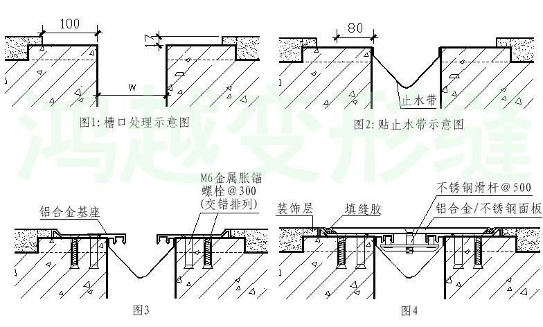 承重型FDM地坪变形缝安装步骤