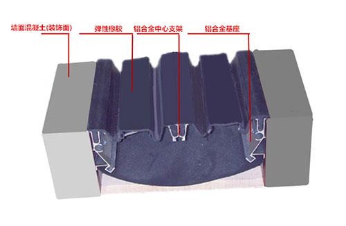 A系列外墙嵌平型变形缝AQ3