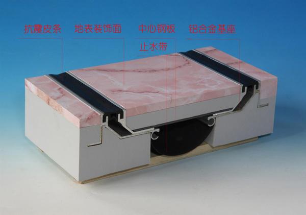 SFFS抗震型楼地面变形缝-细节